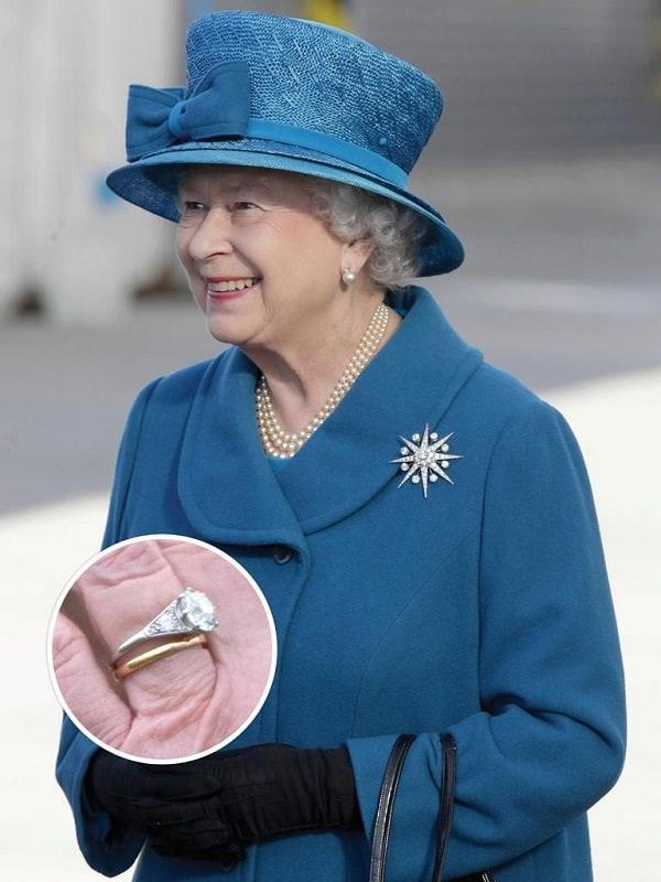 Nhẫn cưới của Nữ hoàng Elizabeth đệ nhị và hoàng tử Philip