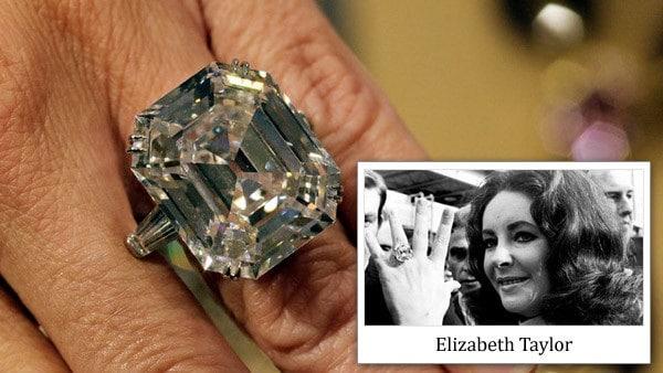 Nhẫn cưới của huyền thoại Hollywood Elizabeth Taylor và Richard Burton