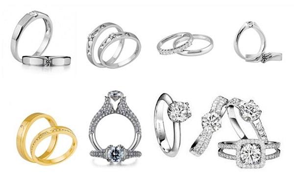 Chọn mua nhẫn cưới phù hợp với điều kiện tài chính