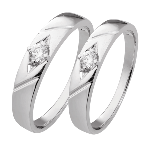 Kiểu nhẫn cưới ấn tượng với kiểu dáng tinh tế