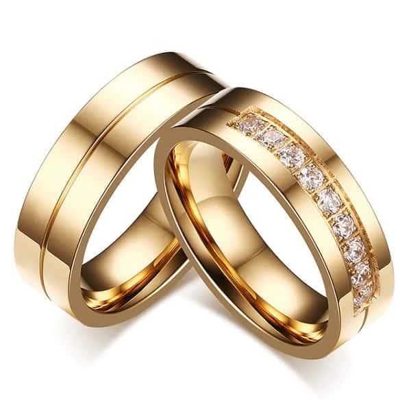 nhẫn cưới kiểu mới