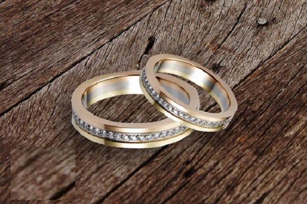 Kiểu dáng nhẫn cưới 18k đa dạng