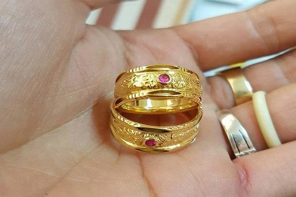 Mẫu nhẫn cưới rồng phụng độc đáo