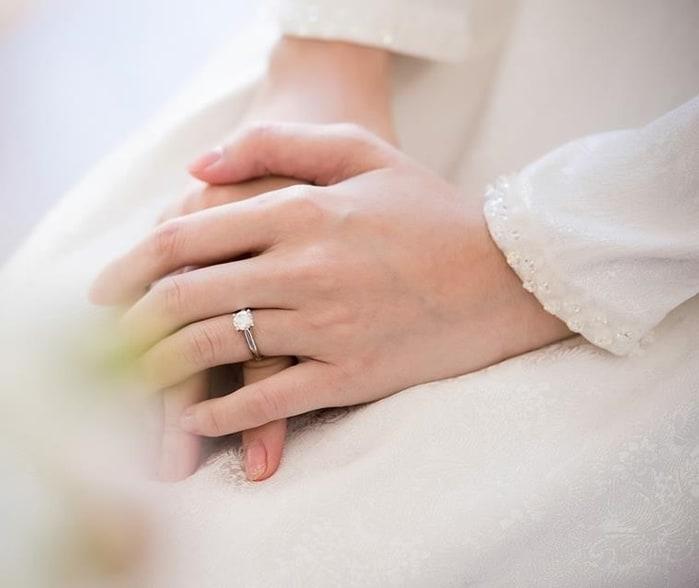 Mẫu nhẫn cưới đẹp lung linh của hoa hậu Đặng Thu Thảo