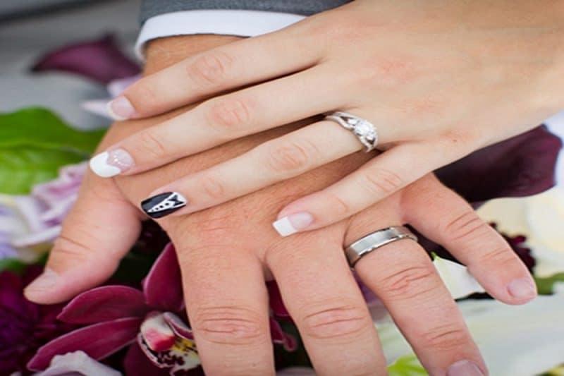 Tổng hợp những hình ảnh nhẫn cưới đẹp của những người nổi tiếng