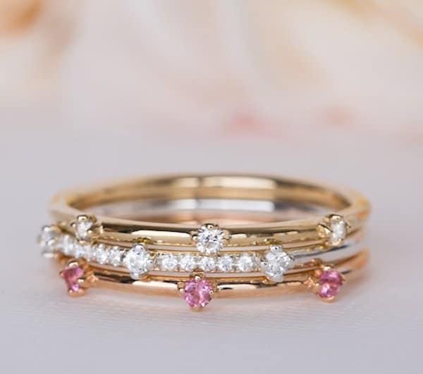 Ấn Độ - Nhẫn cưới cầu kỳ, tinh xảo