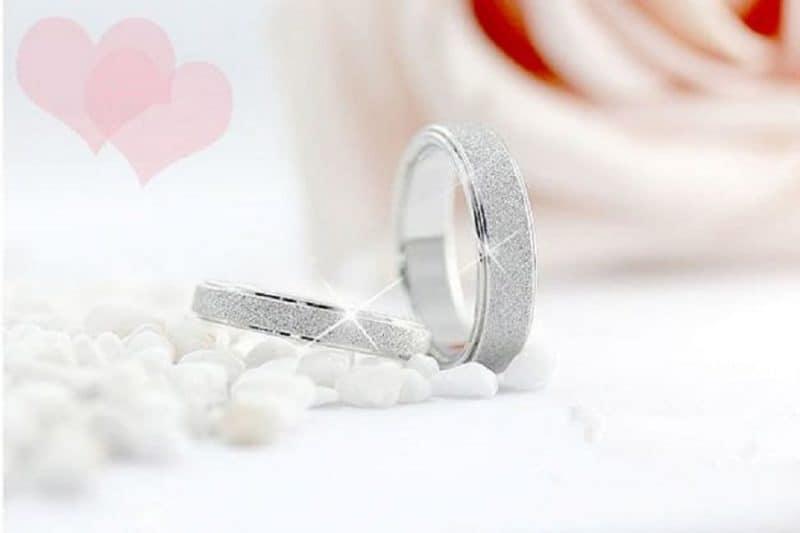Sưu tập nhẫn cưới vàng trắng mới nhất năm